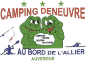 Camping Deneuvre – Emplacements, Pod et Coco Sweet à Châtel-de-neuvre, Val d'Allier Logo
